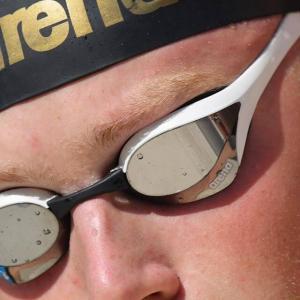 Sacensību peldbrilles