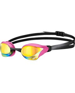 ARENA Cobra Core Mirror Racing Goggles Pink/Black