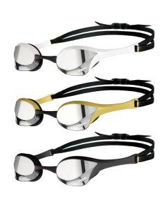 ARENA Cobra Ultra Swipe Mirror Racing Goggles Silver