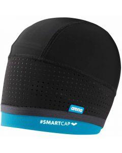 ARENA Smartcap Swimming Cap Black/Turquoise