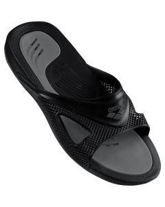 ARENA Hydrofit Man Slide Sandals Black vīriešu peldbaseina čības