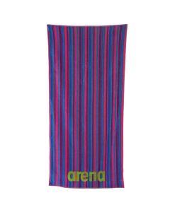 ARENA Multistripes Towel Fresia RoseMulti