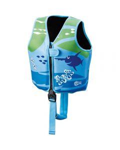 BECO-SEALIFE® Swimming Vest Blue/Green