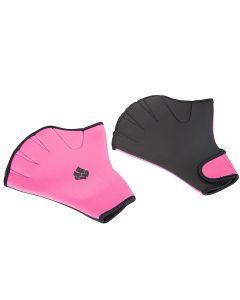 MADWAVE Aquafitness Gloves Pink cimdi