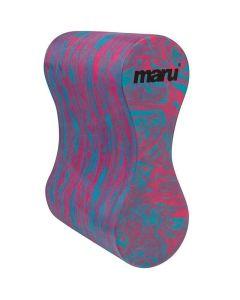 MARU Swirl Pull Buoy Blue/Pink
