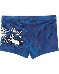 MARU Unisex GRRRR Drag Short Reversible Blue/Red