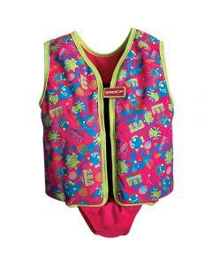 SPEEDO Sea Squad Swim Vest Pink/Green