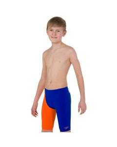 SPEEDO Boy's Fastskin Junior Endurance+ High Waisted Jammer BlueOrange