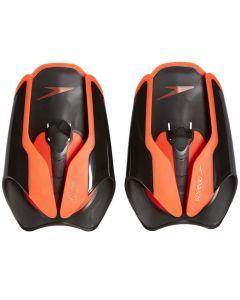 SPEEDO Fastskin Hand Paddle Black/Red lāpstiņas