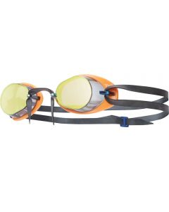 TYR Socket Rockets 2.0 Mirrored Racing Goggles Rainbow/Orange/Black