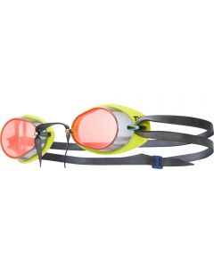 TYR Socket Rockets 2.0 Mirrored Racing Goggles Red/Yellow/Black