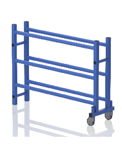 VENDIPLAS Medium Rack for Balls with Wheels