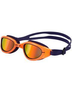 ZONE3 Attack Polarized Swim Goggles Navy/Neon Orange
